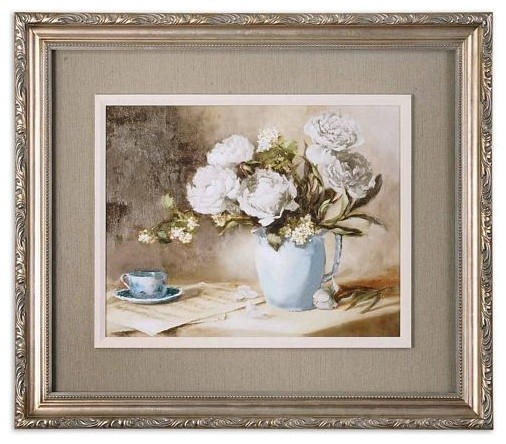 Uttermost Tea Party traditional-artwork