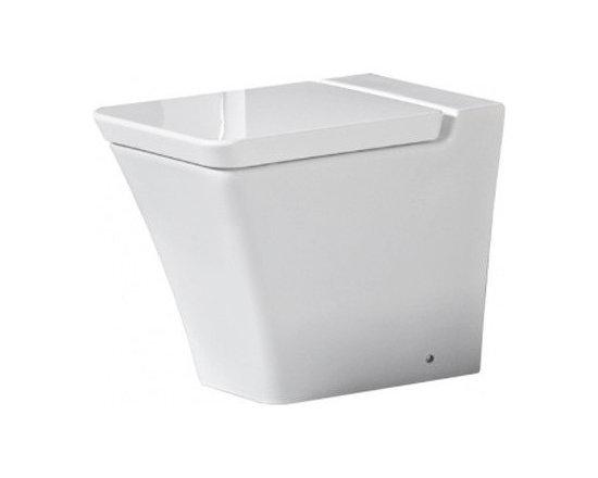 Rak Opulence Back-To-Wall WC Pan With Soft Close Seat -