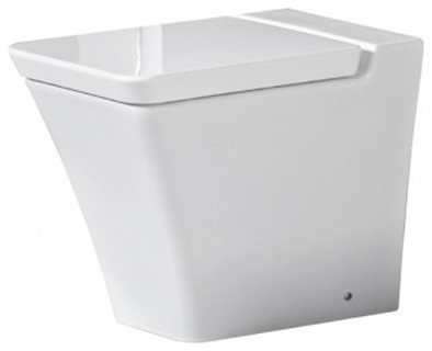 Rak Opulence Back-To-Wall WC Pan With Soft Close Seat modern-toilets