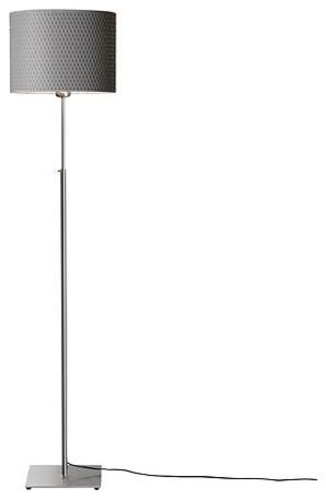 Alang Floor Lamp Nickel Plated Gray Floor Lamps By Ikea