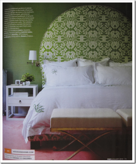 Victoria Websters Hollywood Regency Home (via House & Home magazine) traditional