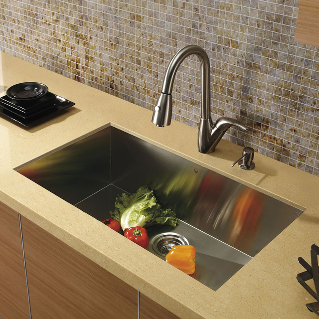 Faucets For Undermount Kitchen Sinks : All Products / Kitchen / Kitchen Sinks and Faucets / Kitchen Sinks