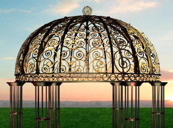 decorative  custom ornamental iron work manufacturing newyork usa