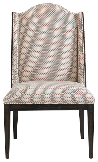 Charleston Regency Ashley Host Chair, Classic Mahogany traditional-dining-chairs