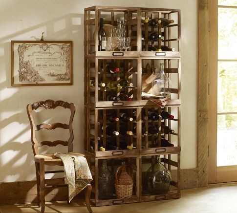 Modular Wine Storage eclectic-wine-racks