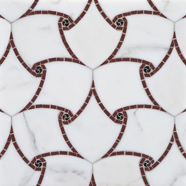 Artiste Stone Mosaic - Ann Sacks Tile & Stone eclectic-mosaic-tile