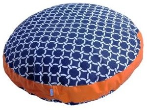 Winston Dog Bed in Citrus traditional pet accessories