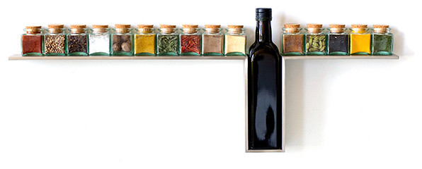 1 Line Spice Rack Desu Design contemporary food containers and storage