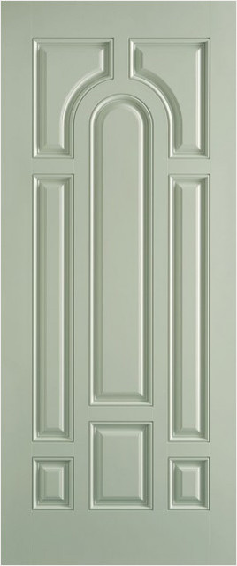 Belleville Smooth Fiberglass Door Front Doors By