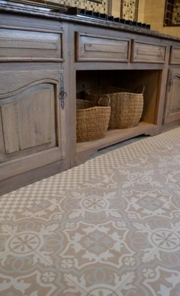 Sabine Hill - Cement Encaustic Tile mediterranean-tile