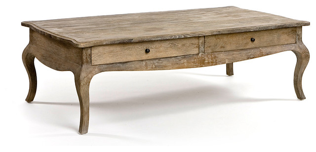 Arles Coffee Table - Limed Grey Oak farmhouse-coffee-tables
