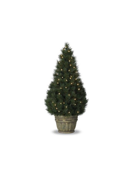 Balsam Hill Potted White Pine Artificial Christmas Tree - THE NATURAL SPLENDOR OF BALSAM HILL'S POTTED WHITE PINE CHRISTMAS TREE |