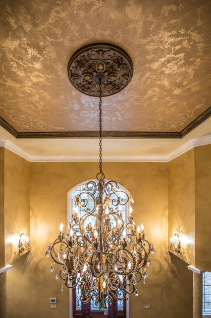 Custom foyer ceiling painting traditional chicago by for Custom ceiling designs