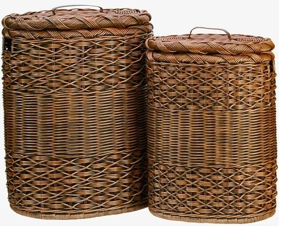 Oval Hamper | Basket Lady baskets