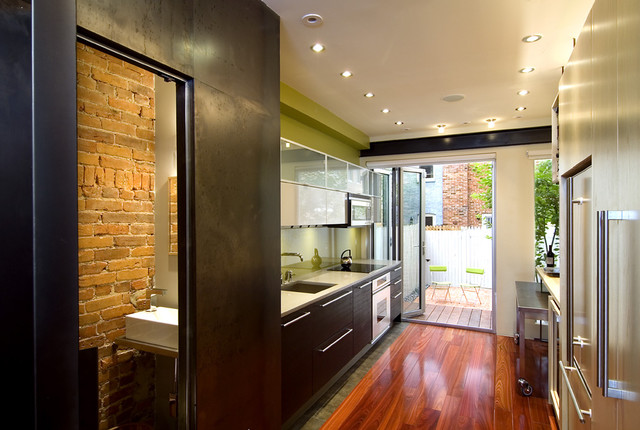 Foggy Bottom Residence contemporary kitchen