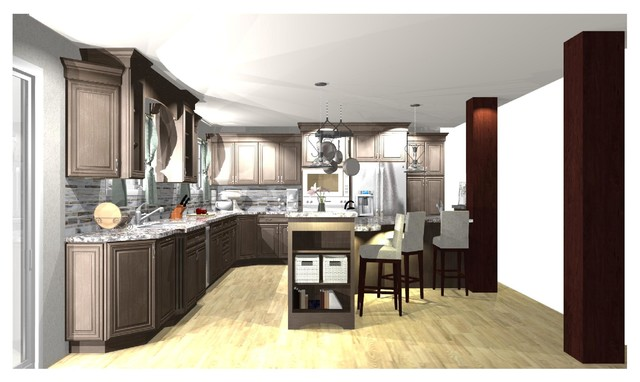 2020 Plans Traditional Kitchen