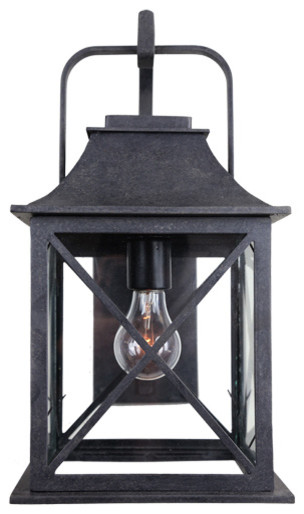 forged lighting newport lantern beach style outdoor wall. Black Bedroom Furniture Sets. Home Design Ideas