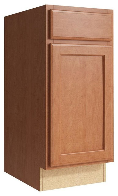 Cardell Cabinets Stig 15 In W X 34 In H Vanity Cabinet Only In Caramel Contemporary