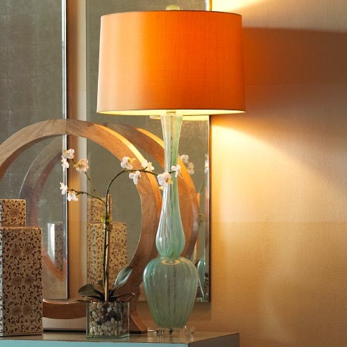 Brighton Glass Lamp traditional floor lamps