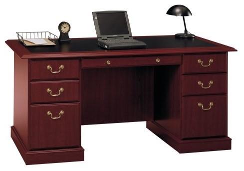 Bush Saratoga Managers Desk traditional-desks