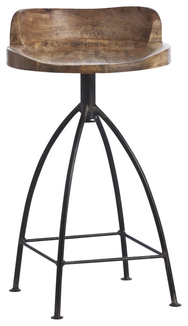 Henson Counter Stool Industrial Bar Stools And