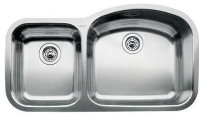 1.75 Reverse Bowl Undermount Kitchen Sink modern-bath-products