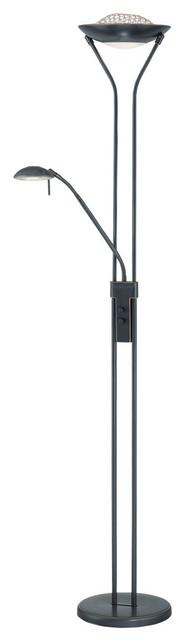 Torch/Reading Lamp D/Brz, 1.5(H)X4.5(B) J/180W, Jcd/G8 50W traditional-floor-lamps