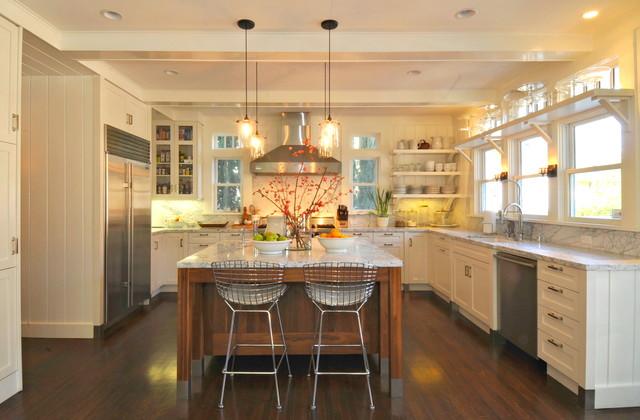 Curtis park american foursquare eclectic sacramento for American home interior design