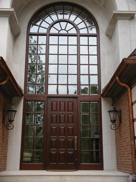 Contemporary Windows and Doors traditional-front-doors