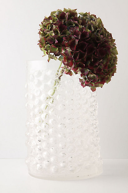 Wide Bubble Wrap Vase eclectic vases