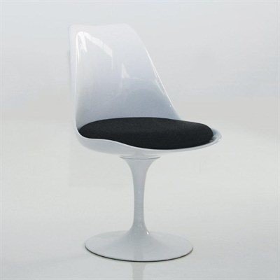 Mobital Furniture Eos Swivel Dining Side Chair Dch