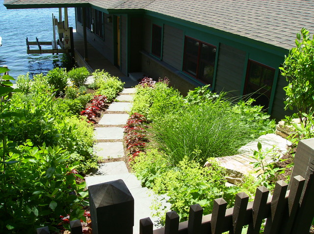 Garden along the St. Lawrence River
