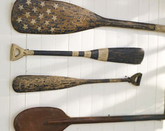 Weathered Painted Oars eclectic-accessories-and-decor