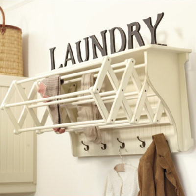 Corday Accordian Drying Racks farmhouse-dryer-racks