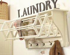 Corday Accordian Drying Racks farmhouse-dryer-racks