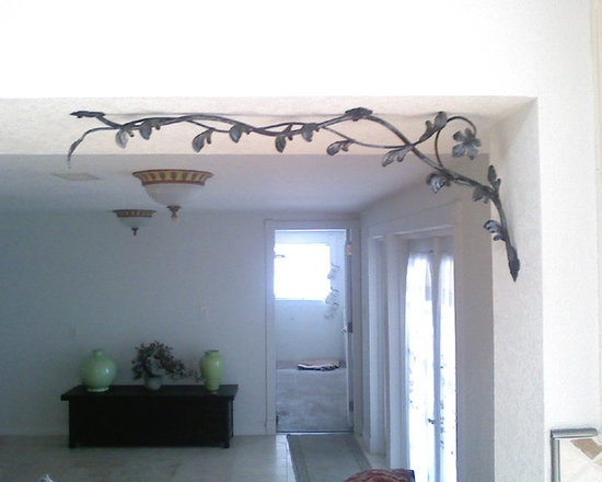 Wrought Iron Ideas - Custom Wrought Iron Bracket.