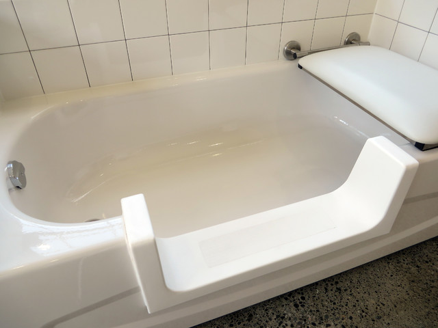 TUB CONVERSION INTO SHOWER Modern Bathtubs Vancouver By ORCA HeatlhCa
