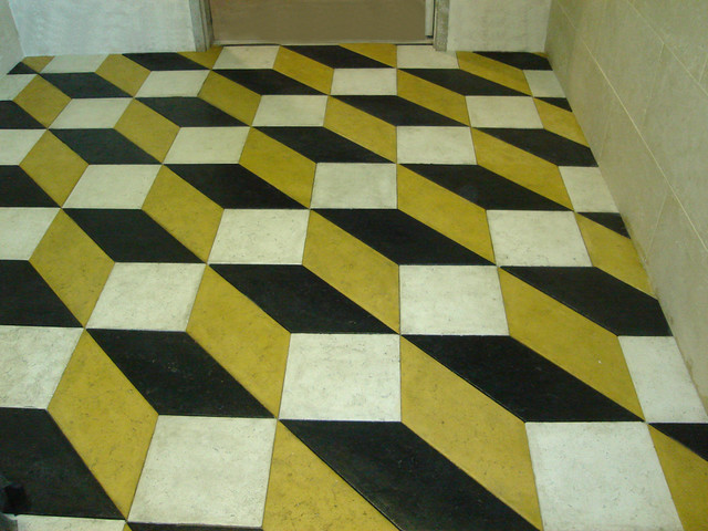 Flooring made from Concrete Tiles traditional-wall-and-floor-tile
