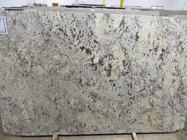 Delicatus Silver / Alaskan White Granite modern-kitchen-countertops