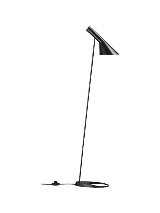 AJ Floor Lamp, Black, by Louis Poulsen