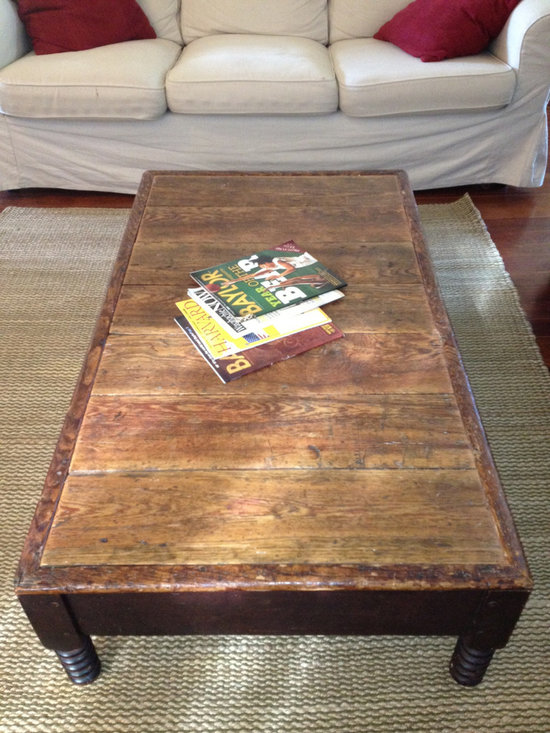Coffee Table - Coffee Table made from Reclaimed Barnwood