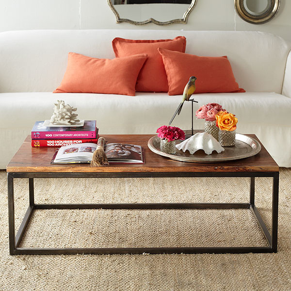 Simply Rustic Coffee Table Contemporary Coffee Tables Dallas By Wisteria