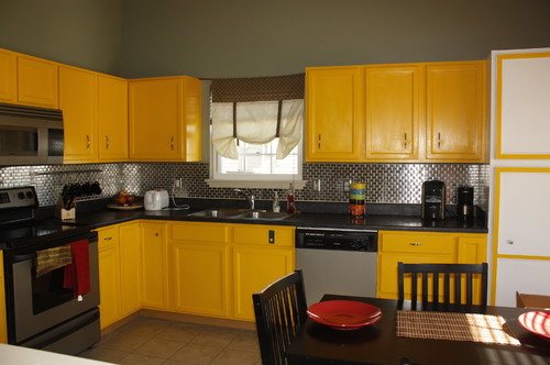 do we need to repaint our yellow kitchen cabinets for sale