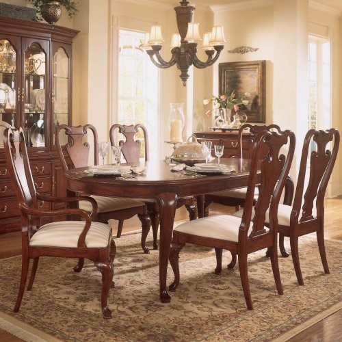 ... pc. Oval Dining Table Set - Traditional - Dining Tables - by Hayneedle