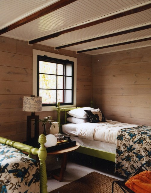 Lake House rustic-bedroom