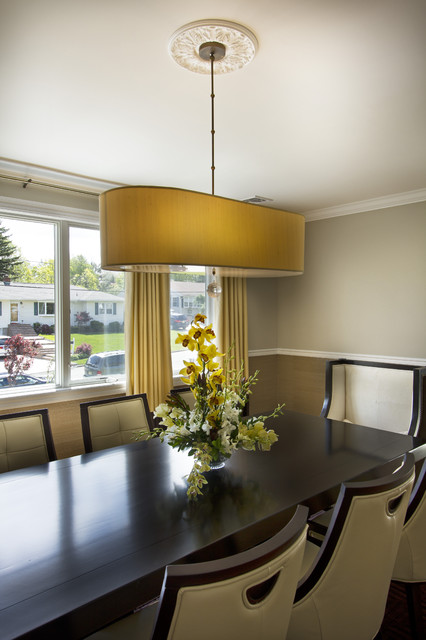 Paramus Home Project contemporary-dining-room