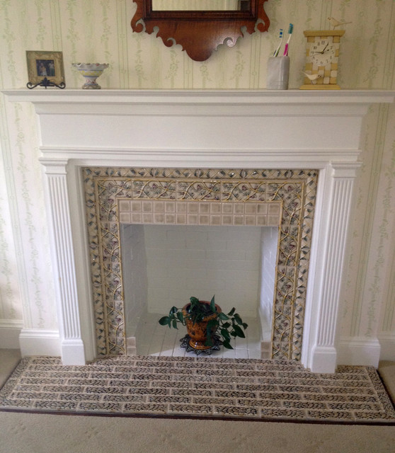 Decorative fireplace traditional portland by pratt Decorative hearth