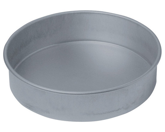 "Chicago Metallic - Chicago Metallic Bakeware Non-Stick 8"" Round Cake Pan - To bake like the pros, you need the right tools of the trade. This pan has straight sides and a nonstick surface that allows you to turn out perfectly round layers for your cake creations. Made of heavy, aluminized steel for even baking, your baked goods turn out perfect every time."