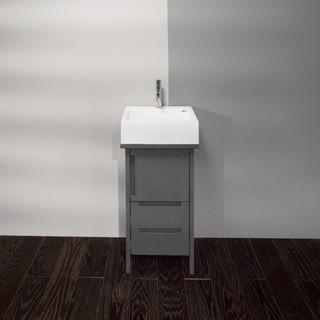 Lacava luce small vessel bowl vanity modern bathroom vanities and