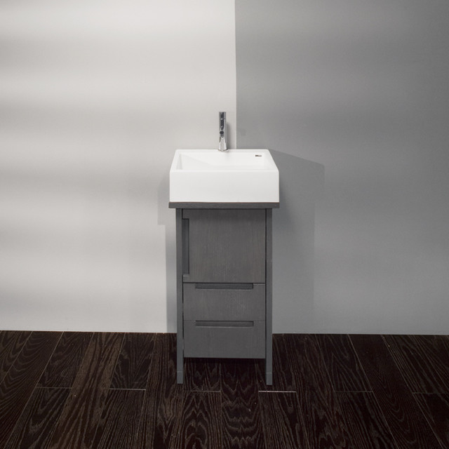Small Vessel Sink Vanity : ... Small Vessel Bowl Vanity modern-bathroom-vanities-and-sink-consoles